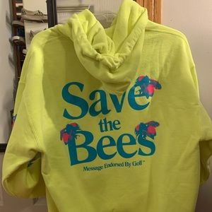 Golfwang Flower Boy Save the Bees Hoodie Size M
